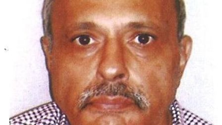 Kantilal Ranchod has been missing since Tuesday