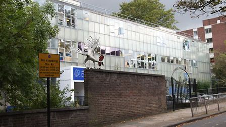 Around 100 squatters are said to have moved into the old Ashmount School building