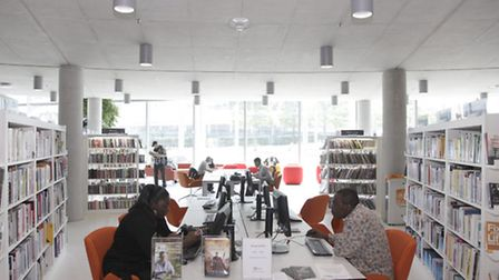 Visitors to Wembley Library are up by 150 per cent compared to its counterpart in the old town hall