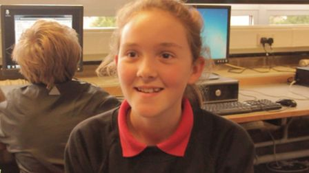 Year nine student Sunita Parsons-Solomon is considering a career in digital media.