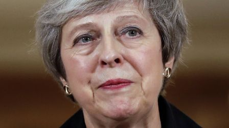 Prime Minister Theresa May holds a press conference at 10 Downing Street, London, to discuss her Bre