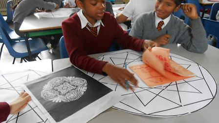 Pupils from Mount Stewart School in Kenton took part in a Sitare workshop for the forthcoming carniv
