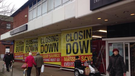 Staff at the closing Beales department store in Lowestoft now face a redundancy consultation. Pictur