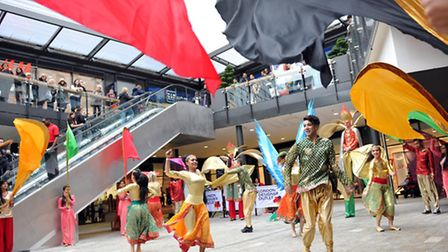 The London Designer Outlet hosted the Sitare Festival at Wembley Park on Saturday. (Pic credit: Adr