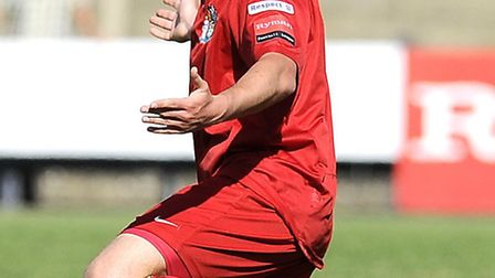 Harrow's Danny Leech had an afternoon to forget against Margate