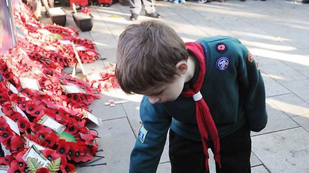 Remembrance Sunday in Islington: Photography by Dieter Perry