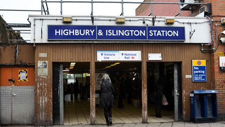 The new services will run form Highbury and Islington Station Pic: Anna Bruce