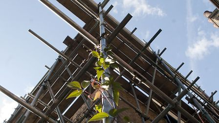 Many of the scaffold sites are said not to have been checked after St Jude's storm