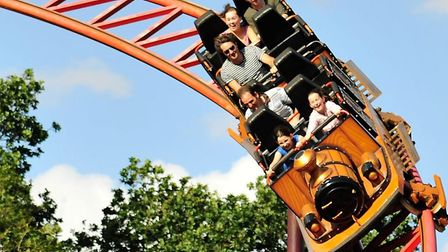 The Cannonball Express roller coaster, will be taking an extended break from gliding around the trac