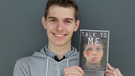 Jack Spence's debut feature-length film, 'Talk To Me', covers the after-effects of bullying. Picture