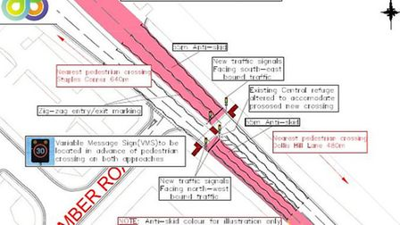 Residents are being consulted about the location of a new pedestrian crossing