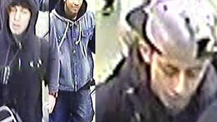 BTP officers are keen to trace this trio