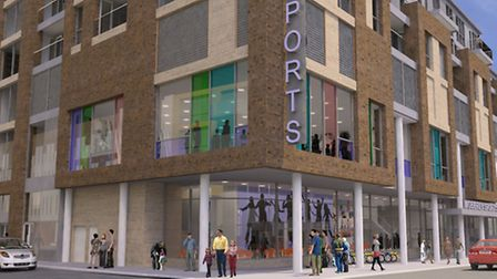 Proposed redevelopment of Moberly sports centre