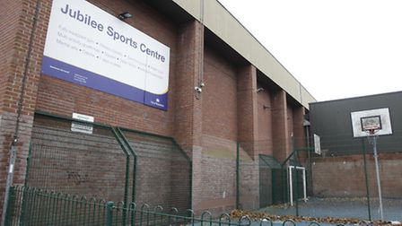 Current Jubilee sports centre