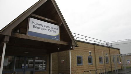 Current Moberly sports centre