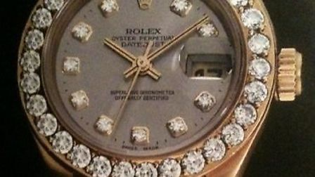 This watch was stolen in a robbery in Kingsbury