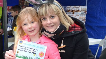 A scene from last year's successful Easter Egg Trail at Sparrow's Nest Gardens in Lowestoft. Voucher