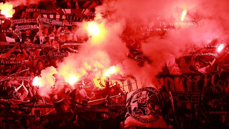 Flares: Really a problem at non-league grounds?