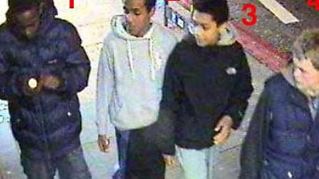 Offiers would like to speak to these four youths after a Wembley man was robbed
