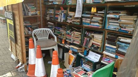 Andrew Gillick told the Times the pop up library was an 'eyesore'