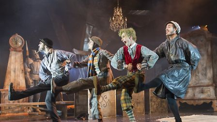WIND IN THE WILLOWS by Tuckett, , Choreography and Director - Will Tuckett, Set design - The