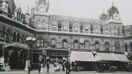 Highbury Station's 1872 facade