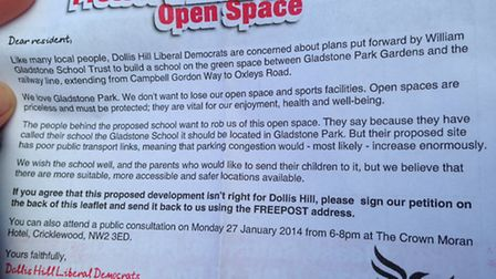 Lib Dems have started a petition against the school