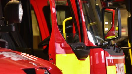 Crews from Lowestoft South fire station were called out to a cooker blaze.