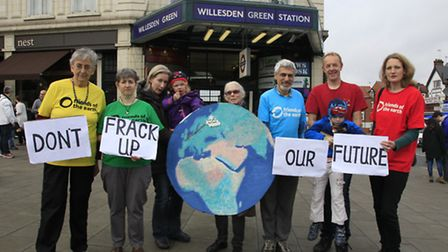 Brent Friends of the Earth is fighting to keep the borough free of fracking. Picture credit: Jan Nev