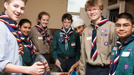Scouts from six london boroughs will be jetting off to Japan next year
