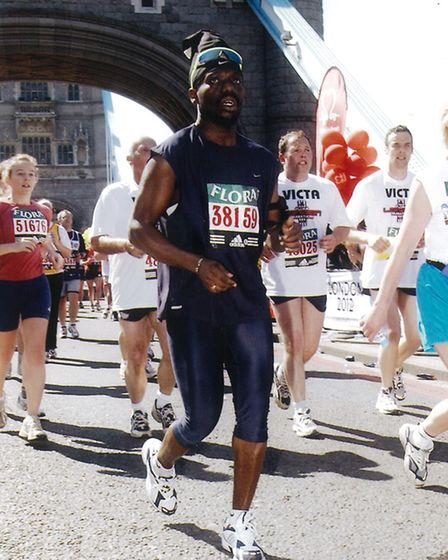 Cllr Bobby Thomas, Brent Mayor, (pictured at a previous event) will be running the London Marathon f