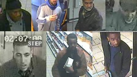 Brent Police have added a further seven suspects to their most wanted list