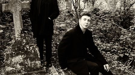 Marc Almond and John Harle Photo Shoot Oct 2013For The Tyburn Tree Album©NOBBY CLARK+44(0)7941-51