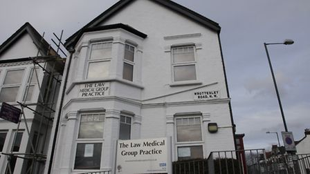 Law Medical Group Practice Wrottesley Rd surgery (pic credit: Jan Nevill)