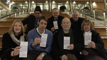Campaigners handed the Council with a petition boasting over 500 signatures (pic credit: Jan Nevill)