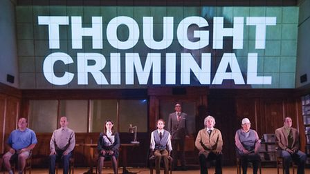 A scene from 1984 by George Orwell @ Nottingham Playhouse. Directed by Robert Icke.(Opening 16-09-1