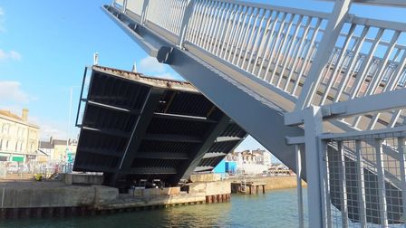 Overnight work is set to be carried out on the Bascule Bridge in Lowestoft. Picture: Highways Englan