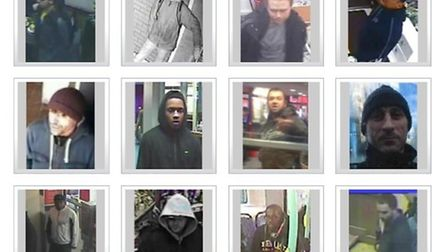 Brent Police have released images of their 12 most wanted suspects caught on CCTV