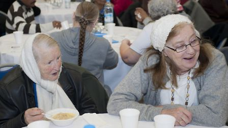 BHP event to support the eldery during the cold winter period