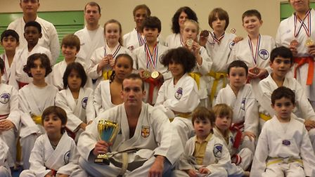 The Veras Academy squad in Sheffield