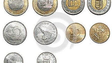 The couple were using Hungarian coins in their scam (pic credit: www.dreamstime.com)