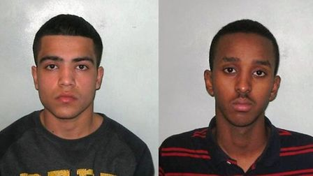 Samim Islami, left, and Adel Yussuf have been given three-year CRASBOs