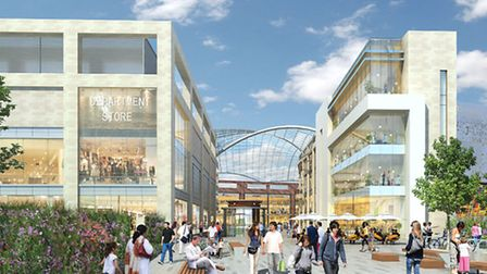 How the new Brent Cross Shopping Centre would look