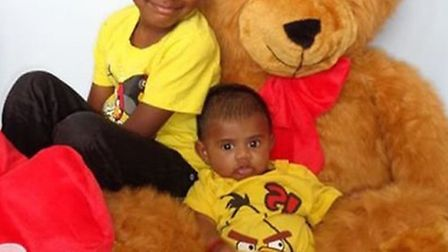 Anopan, left, and Nathiban were suffocated by their mother Jeyavani Vageswaran (pic credit: Facebook
