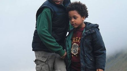 Kaliyl Morris-Whittaker,11, and five-year-old Alexander Whittaker