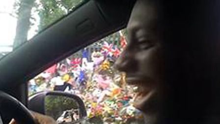 A screen grab taken from a video of Royal Barnes, 23, posted on YouTube glorifying the horrific kill