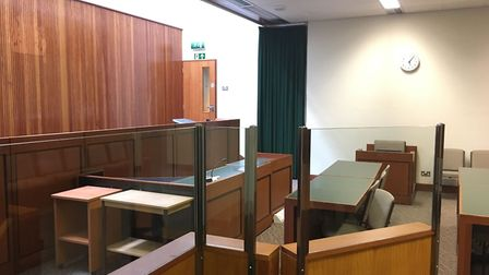 A look inside the derelict Lowestoft Magistrates' Court. Picture: Thomas Chapman