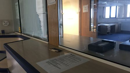 A look inside the derelict Lowestoft Magistrates' Court. Picture: Victoria Pertusa