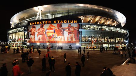 Arsenal's Emirates Stadium. (Photo by Mike Hewitt/Getty Images)