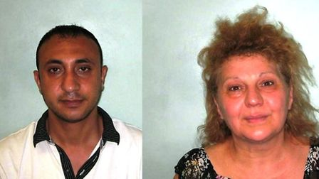 Foad Soltan, left, and Illeana Mitarel have been jailed for five years in their absence